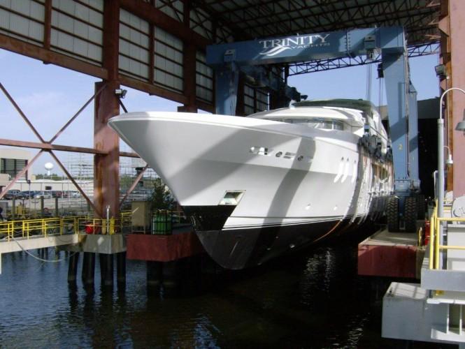 Lady Linda Superyacht Trinity Yachts ex T050 Ready to Splash