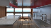 Luxury Aquos Series Motor Yacht Star Fish by McMullen & Wings - Galley