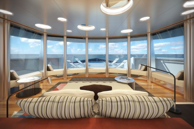 Luxury Expedition Yacht STAR FISH Owners Stateroom - Aquos Series Yacht