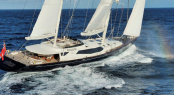 Luxury charter ketch Drumbeat (ex Salperton)