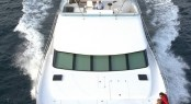 Luxury yacht PC58 - frontview