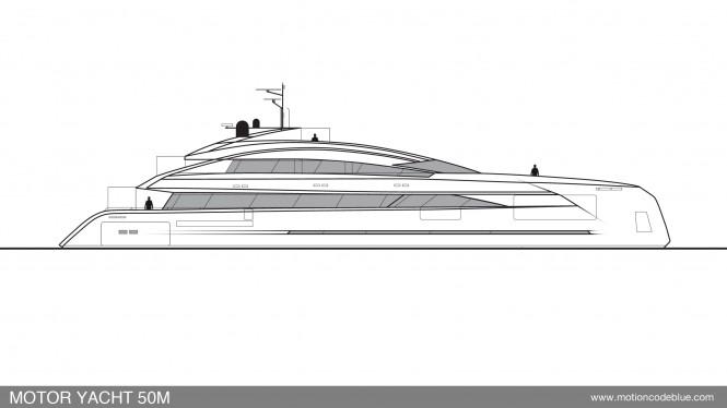 MCB motor yacht 50M