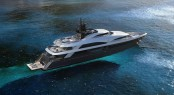 Motor yacht Columbus 181 extended to become the Columbus 200 Classic superyacht