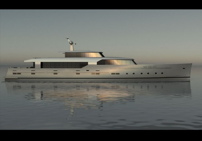 New 45m motor yacht Logica by Benetti Sail Division