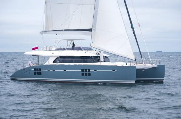 New unit of the Sunreef 70 - ANINI catamaran successfully launched