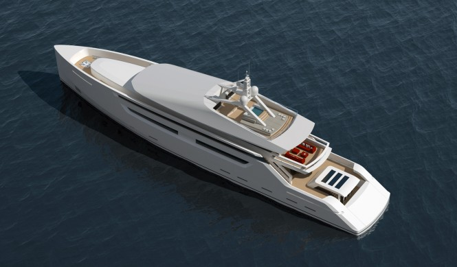 Nick Mezas 49m superyacht - upview