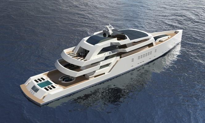 Nick Mezas 75m motor yacht R & R