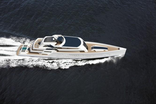 Nick Mezas 75m motor yacht R & R running