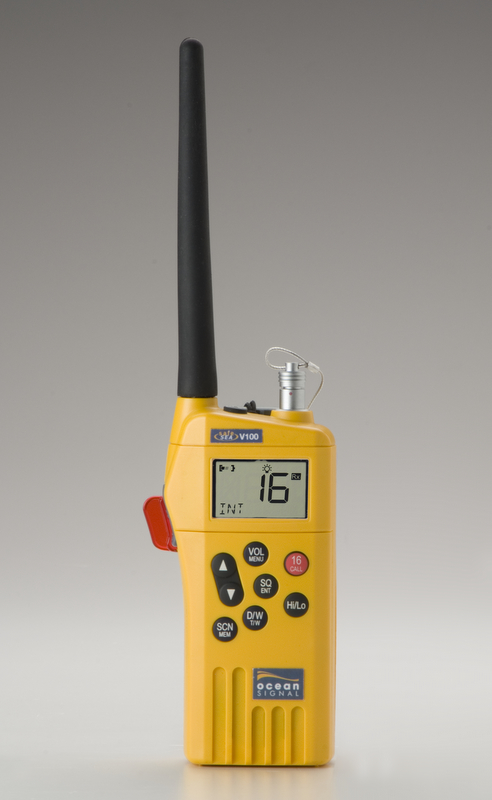Ocean Signal SafeSea V100 hand-held radio