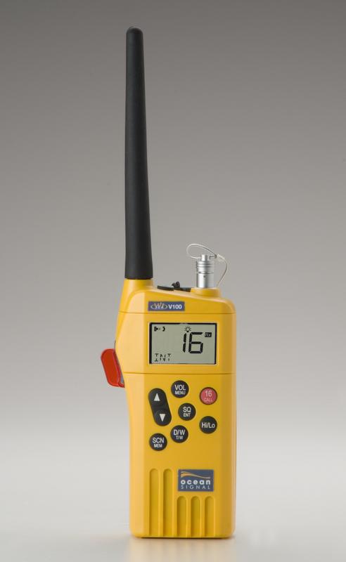 Ocean Signal SafeSea V100 hand-held radio