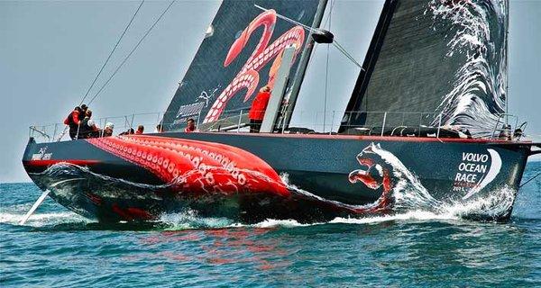 PUMA yacht Mar Mostro running