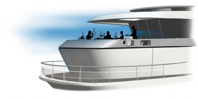 Qi yacht design concept by Feadship
