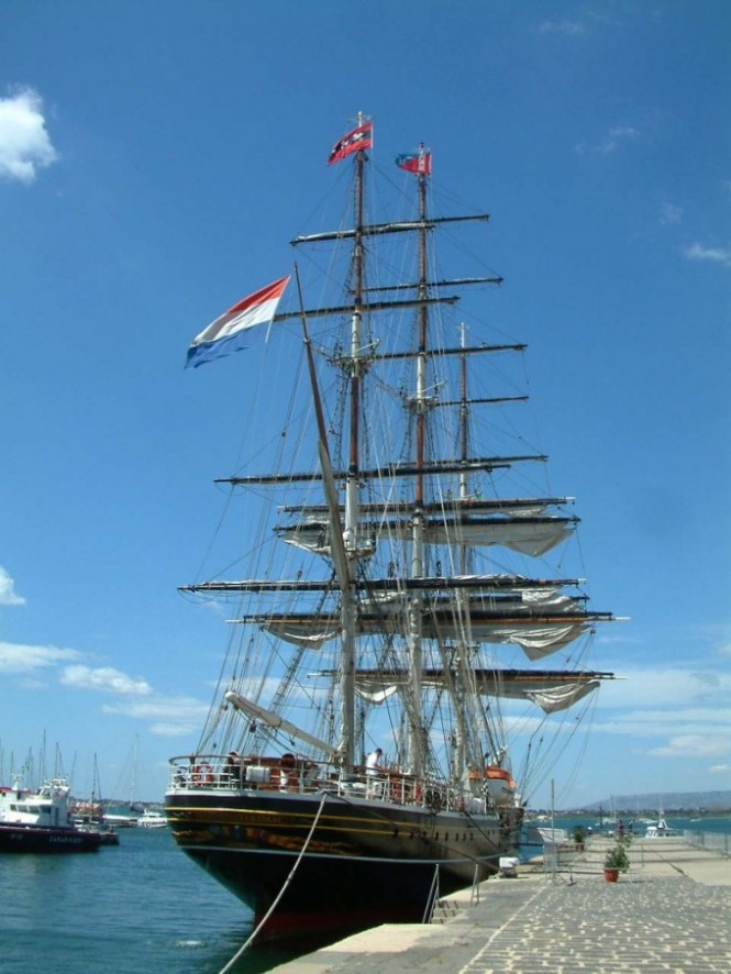 Stad Amsterdam luxury ship for one-of-a-kind yacht charter holiday