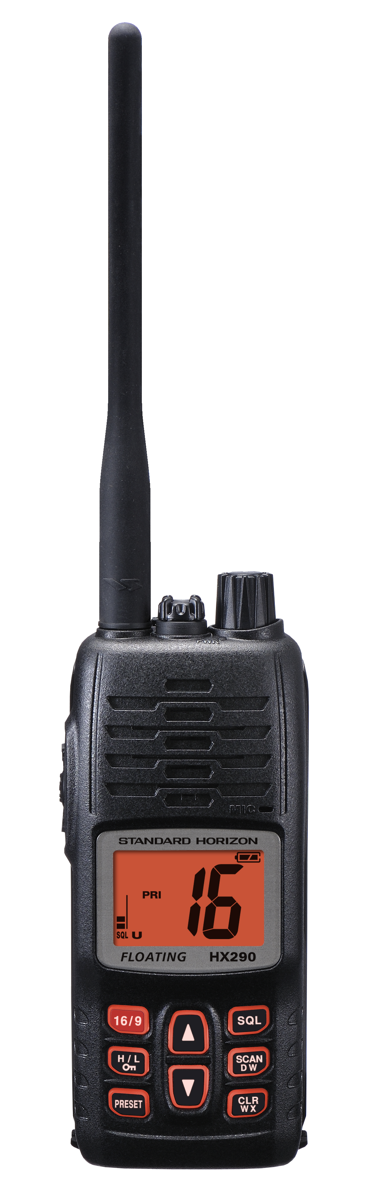 standard horizon vhf handheld radio hx290e yacht charter superyacht news. Black Bedroom Furniture Sets. Home Design Ideas