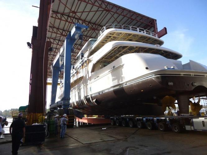 Super Yacht Lady Linda Trinity Yachts ex T050 Aft