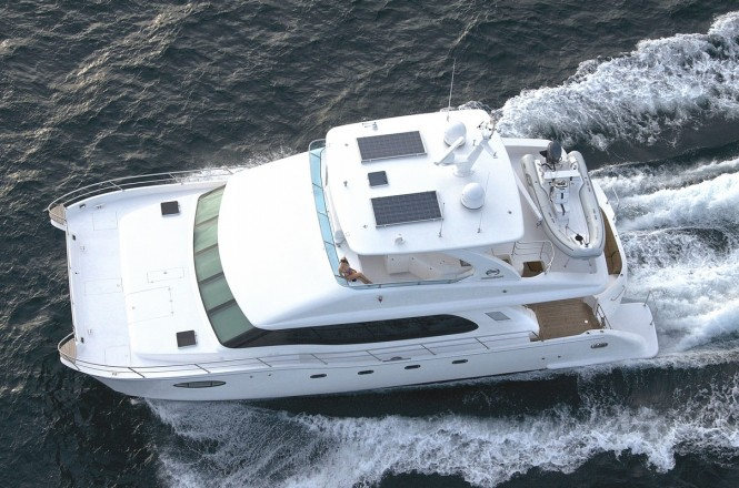 Super yacht PC58 - upview