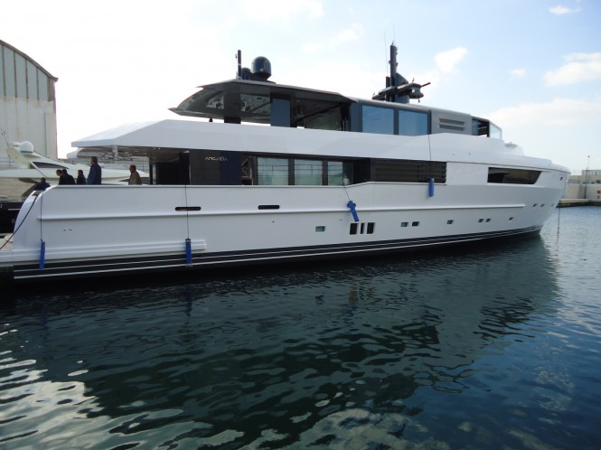 Superyacht M'OCEAN - Arcadia 115 launched