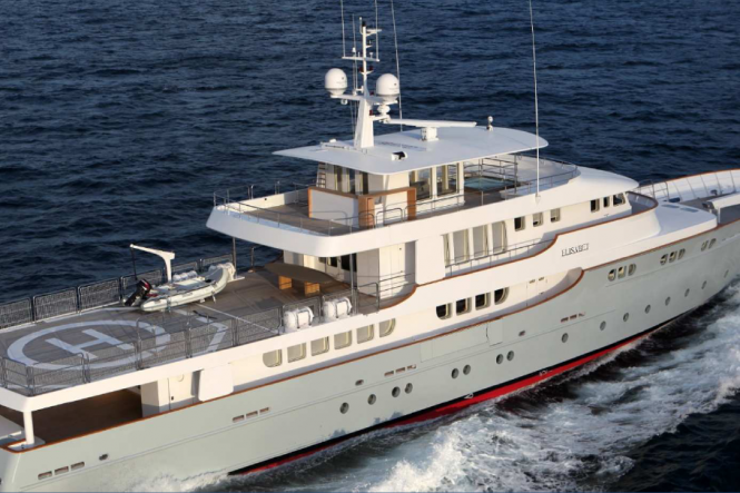 Superyacht Elisabet - a Commuter 155 OCEA yacht