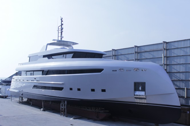 Superyacht Project M by Bilgin Yachts in collaboration with H2 Yacht Design