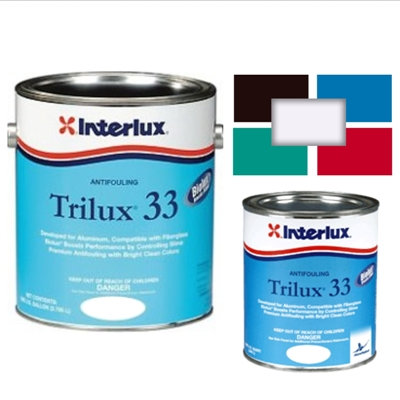 Trilux 33 antifouling by Interlux