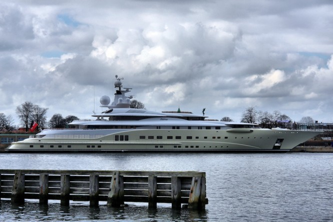 115 m superyacht Pelorus by Lurssen - Photography by Niels M Knudsen