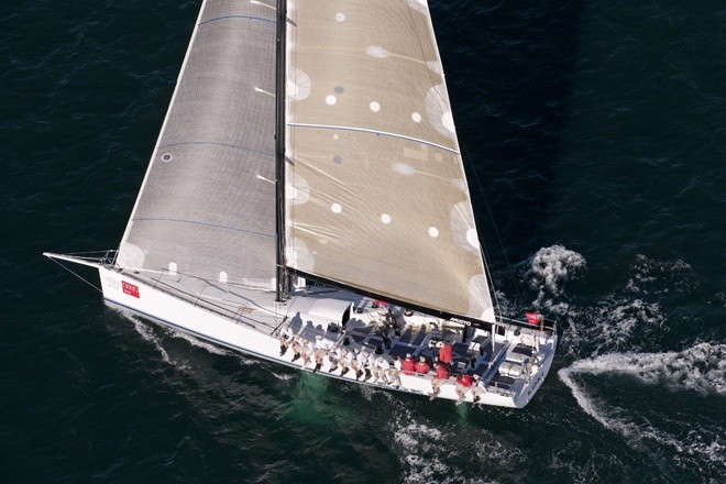 2010 winner of the Audi Sydney Gold Coast Yacht Race, sailing yacht Loki finished second overall in 2011 – Photo Credit Andrea Francolini – Audi ©