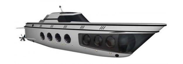 213´ luxury undersea motor yacht Phoenix 1000