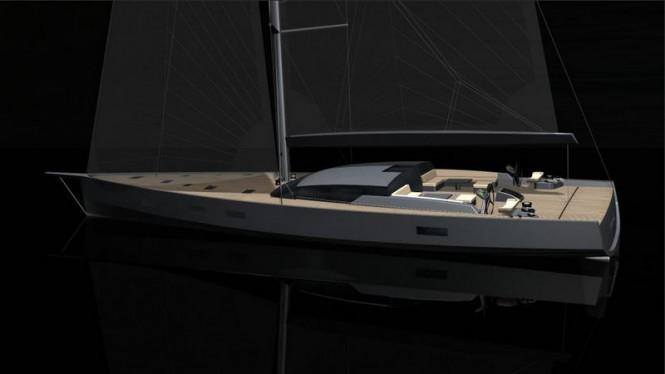 30.48m super yacht Maxi Dolphin FC 100