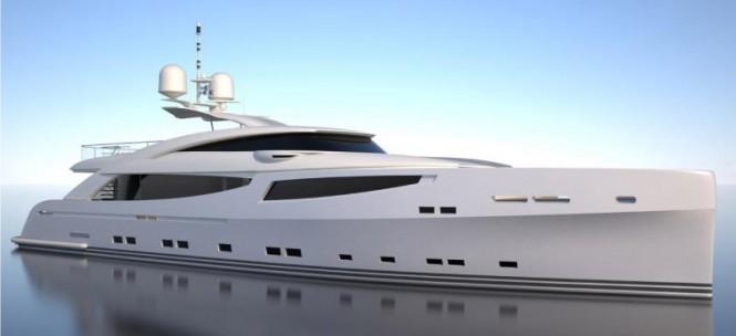 32m GRANTURISMO superyacht by ISA
