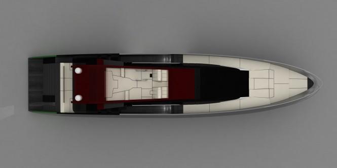 36m luxury yacht Blunt 118 by Carlo Cafiero