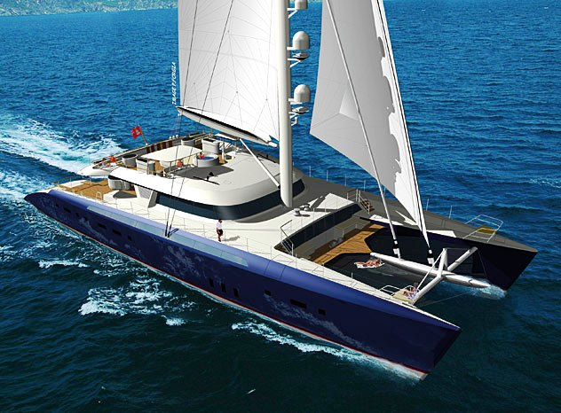 44m luxury catamaran yacht HEMISPHERE