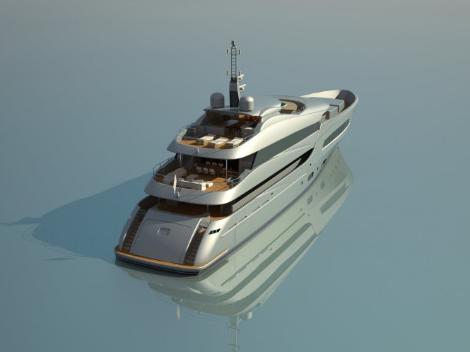 50m Luxury Yacht by Marina Yachts and Arquinaval