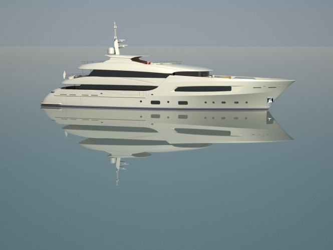 50m Motor Yacht by Marina Yachts and Arquinaval