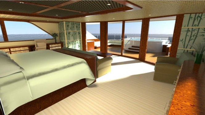 50m luxury motor yacht Evolution