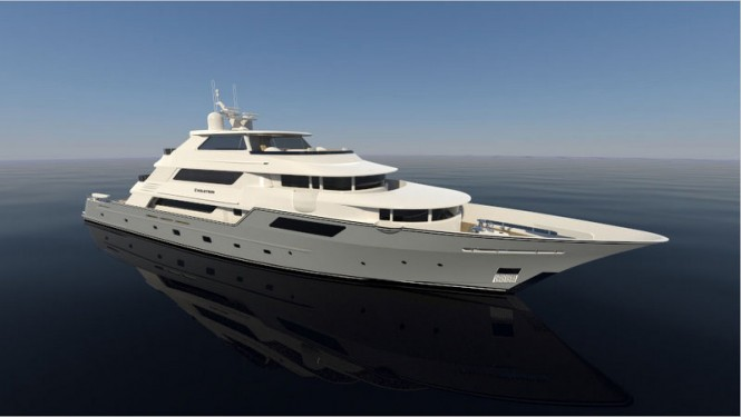 50m motor yacht Evolution by Trinity Yachts