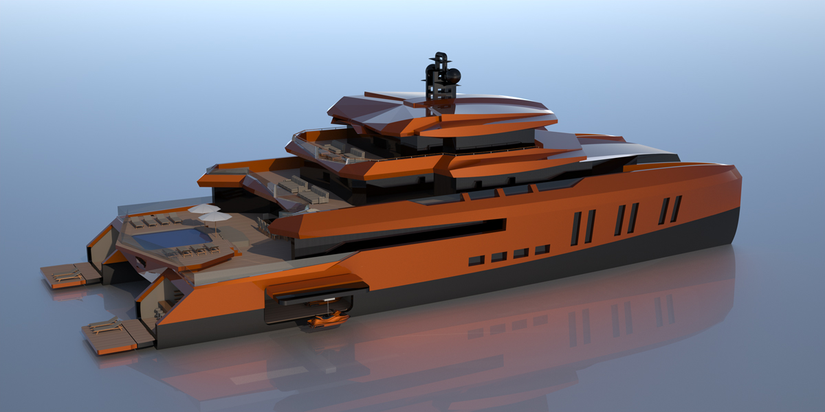 modern helicopter with 52m Catamaran Yacht Eva By Misha Merzliakov on Podium as well Pic Detail moreover 2002 Type 22 Frigate Broadsword moreover A Brief History On Cnc Machining C 56 68 moreover Agustawestland Aw139.