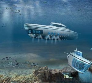 65m Luxury Undersea Yacht Phoenix 1000 by US Submarines