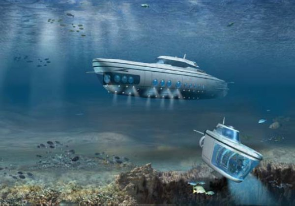 65m luxury undersea superyacht PHOENIX 1000 by US Submarines