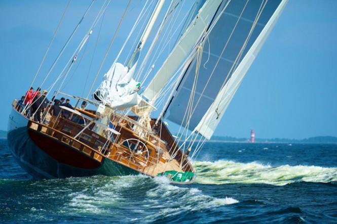 66m luxury yacht HETAIROS by Baltic Yachts