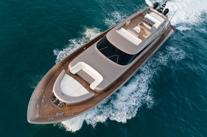 AB 116 luxury motor yacht Blue Force One - Image credit AB Yachts