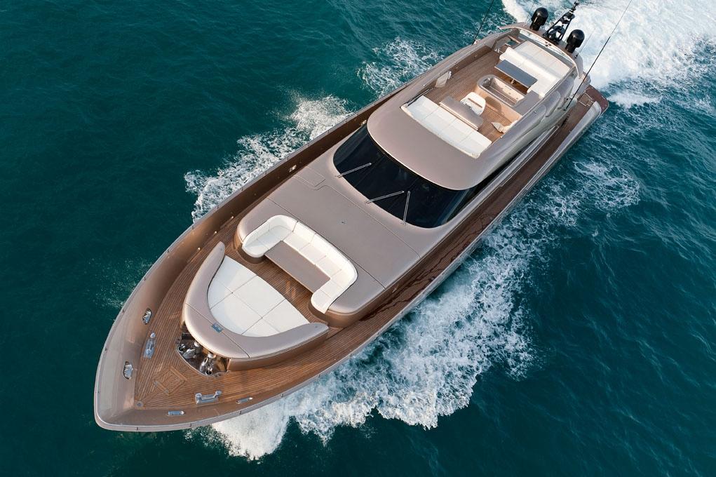 AB 116 luxury motor yacht Blue Force One - Image credit AB Yachts