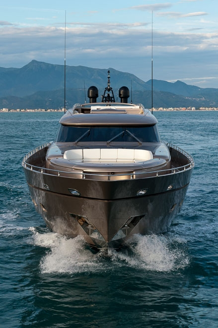 AB Yachts superyacht Blue Force One - Image credit to AB Yachts