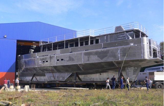 Alu Marine 33m yacht