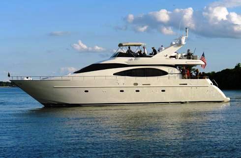 Azimut 70 charter yacht SEAS THE MOMENT