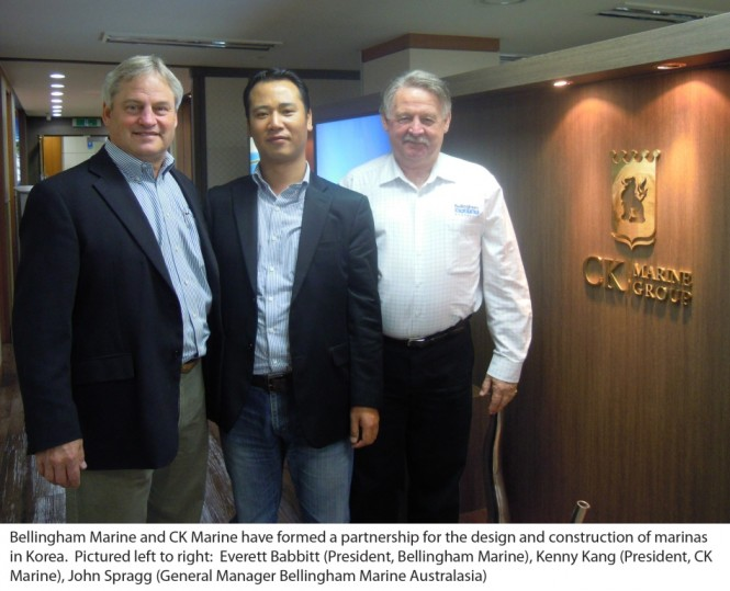 Bellingham Marine and CK Marine form alliance to serve Korean Marina Market.
