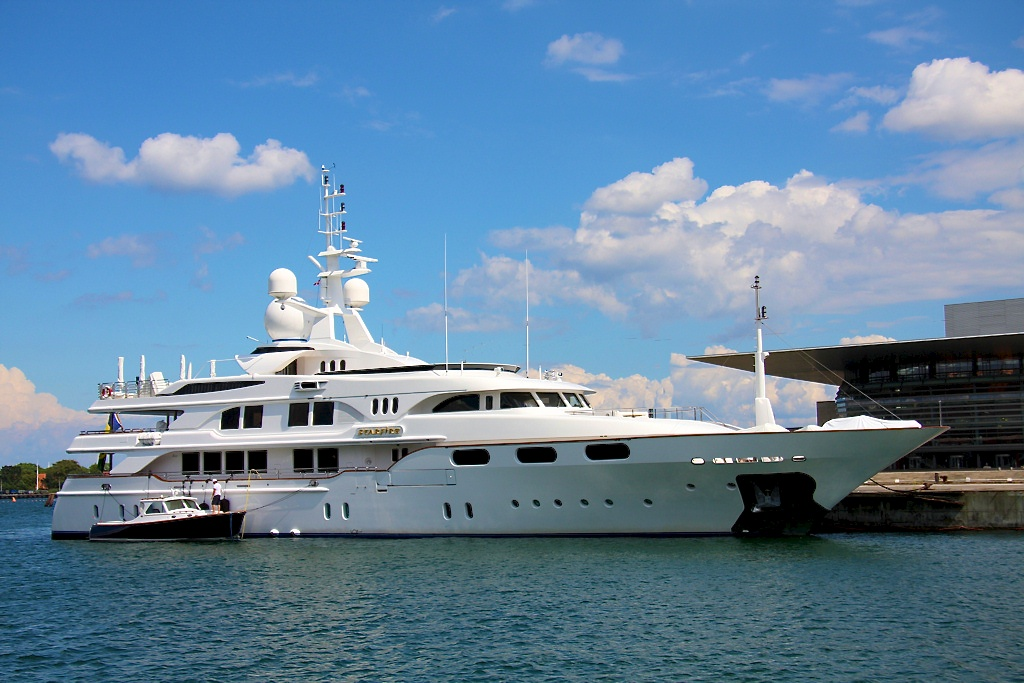 Benetti Charter Yacht Starfire photographed by Niels M Knudsen