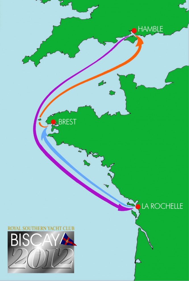 Biscay 2012 Course Map