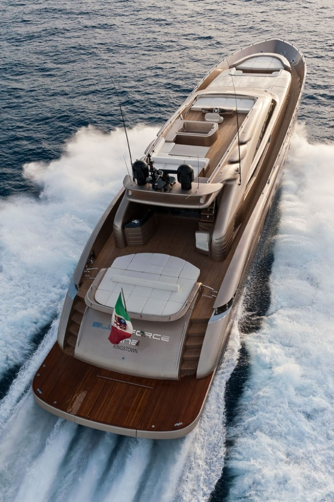 Blue Force One superyacht by AB Yachts - AB 116