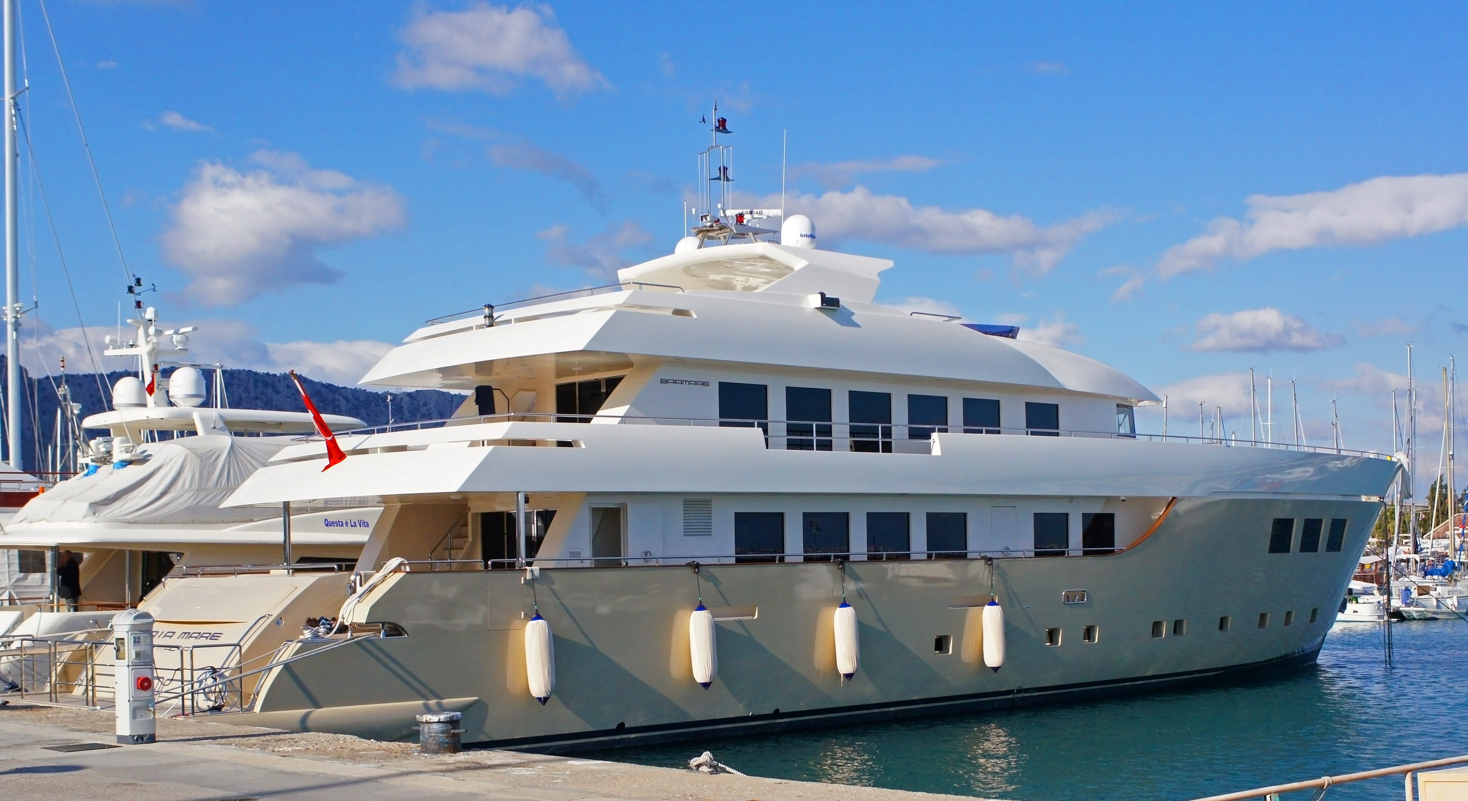 Brand new 42m motor yacht baiamare by nedship for sale for Luxury motor yachts for sale