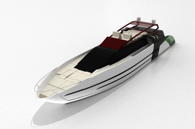 Cafiero luxury yacht BLUNT 118